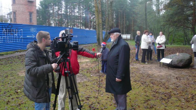 Интервью областному ТВ